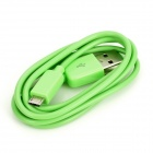 USB Data Transmission / Charging Cable for Nexus 7 Tablet - Green (100cm)