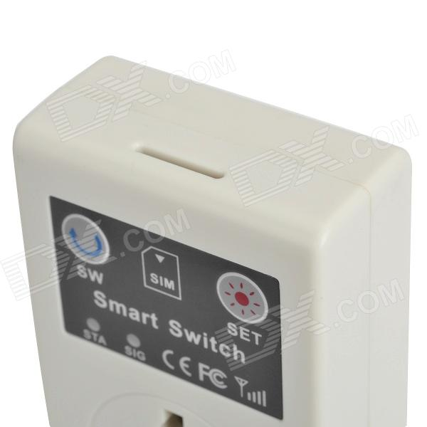 GSM Cell Phone Remote Control Power Switch w/ Universal Socket (AC 110