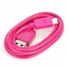 USB Data Transmission / Charging Cable for Nexus 7 Tablet - Deep Pink (100cm)