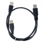 USB 2.0 Male to Male Connection Cable - Black(60cm)
