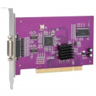 DVR-1608 8-Channel Digital Video Monitoring Recording Card - Purple + Silver