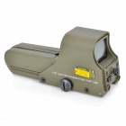 32 x 22mm Rot / Grün Dot Sight Zielfernrohr - Army Green (2 x AA)