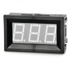 Mini 3-Digit Blue Display Digital Voltmeter Module (4.5~30V)