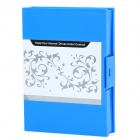 "Dictionary Style 3.5"" Hard Disk Drive Protective Box Enclosure - Blue"