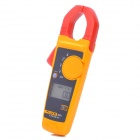 "FLUKE F302+ 1.6"" LCD AC Clamp Meter - Yellow + Red (3 x AAA)"