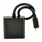 Micro HDMI Male to VGA Female Converter Adapter - Black