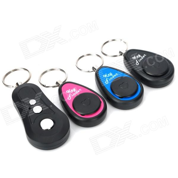 3-in-1 Electronic Remote RF Wireless Key Finder w/ 3 Receivers (1 x CR2032) 1 to 4 electronic wireless key finder keychains set black 2 x cr2032 batteries