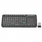 Mini Wireless 2.4GHz Keyboard w / Touchpad / Maus / Laser Pointer