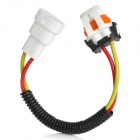9006 Male to Female Wire Harness Sockets Extension Cable for Car Headlamp / Foglight