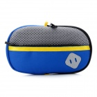 Portable Padded Fabric Carrying Bag for Sony PSP Series / PS Vita - Dark Blue
