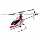 Wltoys V911 Mini Rechargeable 2.4GHz Radio Control 4-CH R/C Helicopter - Red + White