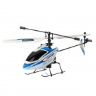 Wltoys V911 Mini Rechargeable 2.4GHz Radio Control 4-CH R/C Helicopter - Blue + White