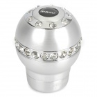 MOMO Aluminum Alloy Car Gear Shift Knob - Silver (Size S)