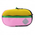 Portable Padded Fabric Carrying Bag for Sony PSP Series / PS Vita - Pink