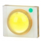 3W 6000~7000K 210lm White LED Light Bulb - Yellow (AC 3.2~3.6V)