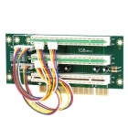 1 to 3 PCI Slot Adapter Card - Green