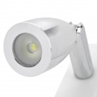 TY-907 USB Powered 1-LED de luz blanca de la lámpara w / Clip - Blanco (DC 5V/160cm)
