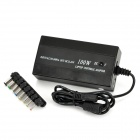 Universal Power Adapter Charger for Laptop Notebook - Black (8 Connectors / AC 110~240V)