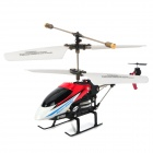 i348 Iphone / Ipad MINI Controlled Rechargeable 3.5-CH R/C IR Helicopter - White + Black + Red