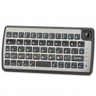 Handheld USB Powered Bluetooth Wireless 54-Key Keyboard - Black