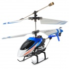 i348 Iphone / Ipad MINI Controlled Rechargeable 3.5-CH R/C IR Helicopter - Blue + Black + Red