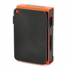 Rechargeable Screen Free MP3 Player w/ TF Slot / 3.5mm Jack - Orange + Black