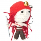 Saan Ha Watchover Voodoo Doll - Red Hair Pirate Katarina