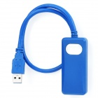 USB 3.0 zu HDMI / DVI Super Speed-Kabel-Adapter - Blau (38cm)
