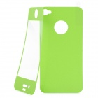 Matte Protective Front + Back Cover Skin Sticker for Iphone 4 / 4S - Green