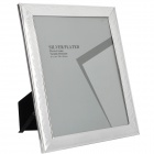13807-8R Elegant 200 x 250mm Metal Photo Frame - Silver