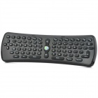 Mini USB2.0 1200dpi Wireless Optical Remote Control Mouse Keyboard - Black