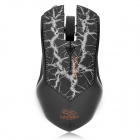 USB Wired 800 / 1600 / 2400 / 3200DPI Gaming Optical Mouse - Black + Grey