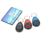 FK-383F-1 Electronic Key Transmitter w/ Receivers Finder - Black + More (4 PCS)