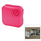 X-Sticker Mini Vibration USB Music Speaker - Deep Pink (2 x AAA)