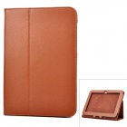 Protective PU Leather Case for Samsung Galaxy Tab 8.9  P7300 / P7310 - Brown