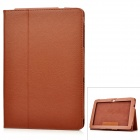 Protective PU Leather Case for Samsung Galaxy Tab P7500 / P7510 - Brown