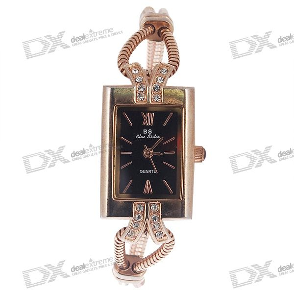 Golden Lady's Wrist Watch