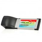 MOGE Dual USB 2.0 Express Card 34mm für Laptop Notebook - Schwarz