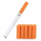Rechargeable Mint Flavor Electronic Cigarette w/ 10-Refills / USB Charger / Car Charger / AC Charger