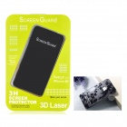 Protective Front Screen Protector + Back Cover Skin Sticker for Iphone 4 / 4S - Transparent