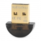 Plastic USB 2.0 Bluetooth V4.0 Adapter - Black
