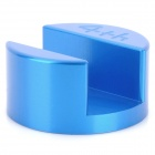 Ultra Mini Portable Aluminum Alloy Stand Holder Base for Iphone 4 / 4S - Blue
