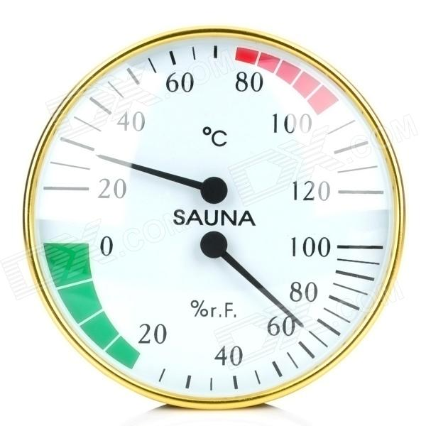 Anymetre HT100 Sauna Battery-Free Thermometer Humidity Meter - White