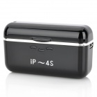 Portable External 1500mAh Emergency Power Charger for iPhone 4 / 4S - Black