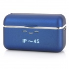 Portable External 1500mAh Emergency Power Charger for iPhone 4 / 4S - Blue