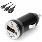USB AC Charger w/ 3-in-1 Charging Cable for SP / 3DS / NDS + More (DC 12~24V)
