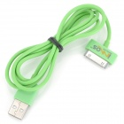 USB Sync Data / Charging Cable for iPhone 3G / 3GS / 4 / 4S / iPad / The New iPad / iPod - Green