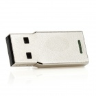 Mini alumínio USB 2.0 Flash Drive - Silver (2GB)