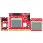 Laptop / PC Debug Card Expert Mini PCI-E / PCI / LPC Diagnostic Board w/ Dual 1.7