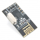 Upgraded 2.4GHz NRF24L01 Wireless Transceiver Module for Arduino - Black